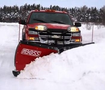 Miller Lawn Service snow plowing in Willoughby, OH