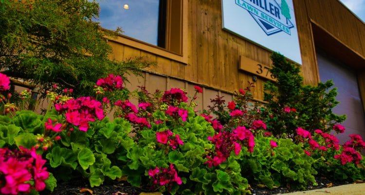 Miller Lawn Services Building